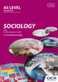 AS Level Sociology Spec Cover