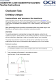 Enthalpy changes - KS4-KS5 transition guide - checkpoint task