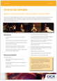 GCSE Drama factsheet for learners- cover-