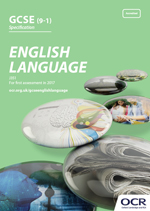 GCSE English Language - J351 front cover