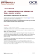 LDS – Investigating bicycle use in England and Wales (repeated sampling) - Lesson element