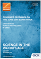 Combined Feedback - R075/02 - June 2014 exam paper  - cover