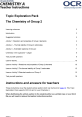 The Chemistry of Group 2 - Topic exploration pack - image