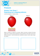 Pressure - Learner activity - Topic exploration pack - cover