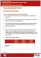 The Normal distribution learner activity - cover