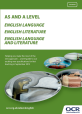 AS/A Level English summary brochure - cover